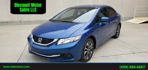 2014 Honda Civic for sale at Discount Motor Sales LLC in Wenatchee WA