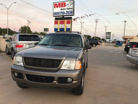 2005 Ford Explorer for sale at MB Auto Sales in Oklahoma City OK