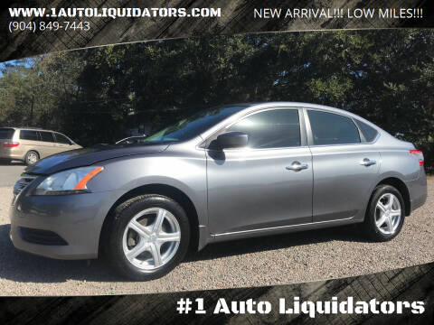 2015 Nissan Sentra for sale at #1 Auto Liquidators in Yulee FL