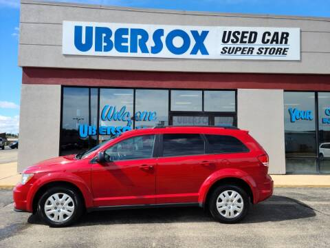 2020 Dodge Journey for sale at Ubersox Used Car Superstore in Monroe WI