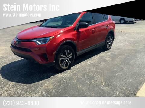 2017 Toyota RAV4 for sale at Stein Motors Inc in Traverse City MI