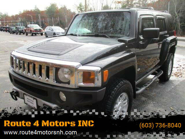 2008 HUMMER H3 for sale at Route 4 Motors INC in Epsom NH