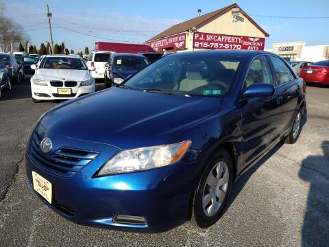 2007 Toyota Camry for sale at P J McCafferty Inc in Langhorne PA