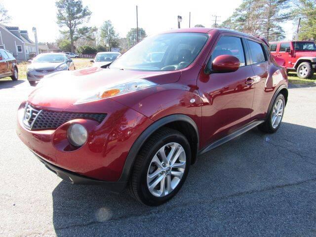 2012 Nissan JUKE for sale at Atlantic Auto Sales in Chesapeake VA