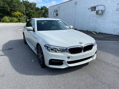 2017 BMW 5 Series for sale at LUXURY AUTO MALL in Tampa FL