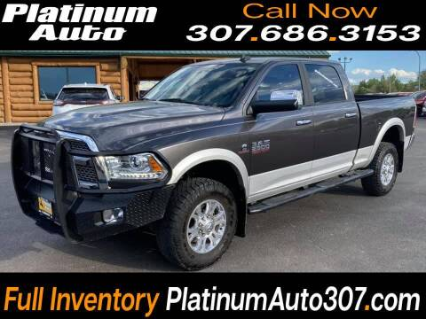 2018 RAM Ram Pickup 2500 for sale at Platinum Auto in Gillette WY