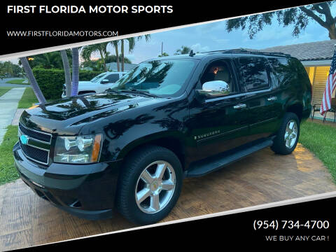 2009 Chevrolet Suburban for sale at FIRST FLORIDA MOTOR SPORTS in Pompano Beach FL