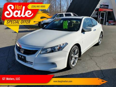 2011 Honda Accord for sale at GT Motors, LLC in Elkin NC