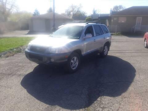 2003 Hyundai Santa Fe for sale at Flag Motors in Columbus OH