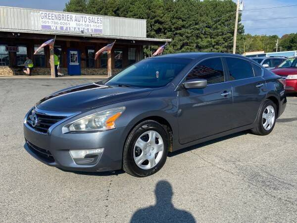 2014 Nissan Altima for sale at Greenbrier Auto Sales in Greenbrier AR