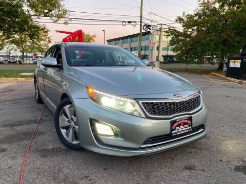 2015 Kia Optima Hybrid for sale at JerseyMotorsInc.com in Teterboro NJ