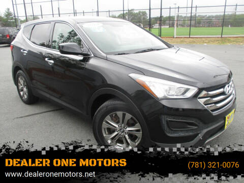 2014 Hyundai Santa Fe Sport for sale at DEALER ONE MOTORS in Malden MA