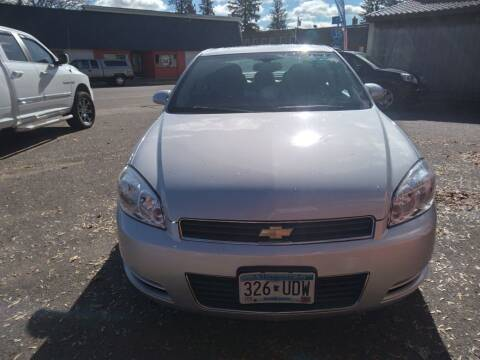 2009 Chevrolet Impala for sale at WB Auto Sales LLC in Barnum MN