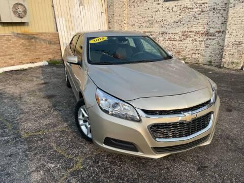 2015 Chevrolet Malibu for sale at Some Auto Sales in Hammond IN