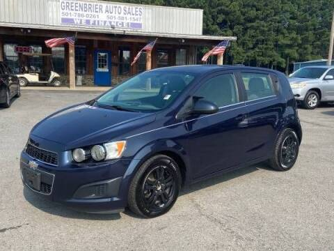 2015 Chevrolet Sonic for sale at Greenbrier Auto Sales in Greenbrier AR