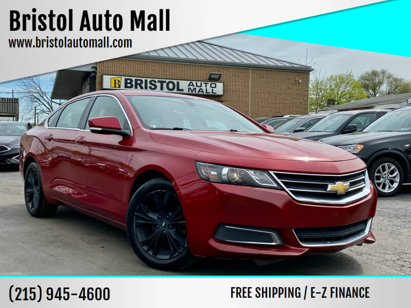 2015 Chevrolet Impala for sale at Bristol Auto Mall in Levittown PA