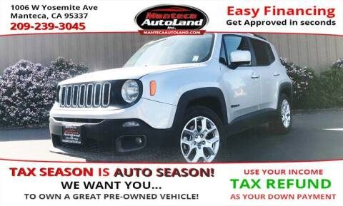 2017 Jeep Renegade for sale at Manteca Auto Land in Manteca CA