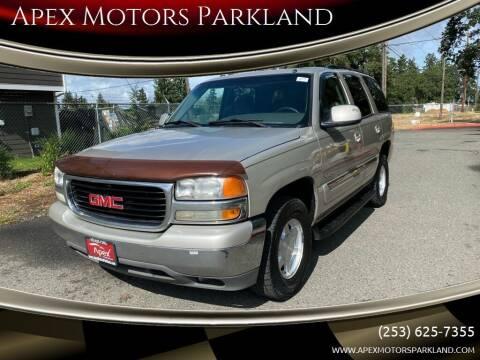 2004 GMC Yukon for sale at Apex Motors Parkland in Tacoma WA