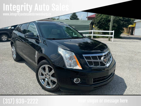 2012 Cadillac SRX for sale at Integrity Auto Sales in Brownsburg IN