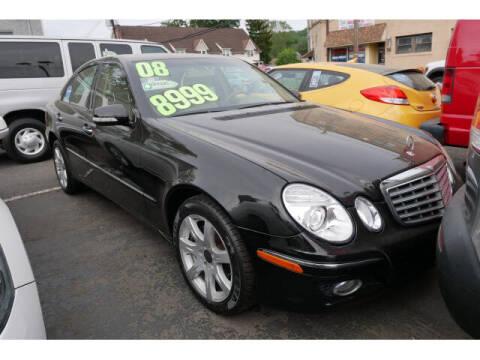 2008 Mercedes-Benz E-Class for sale at M & R Auto Sales INC. in North Plainfield NJ