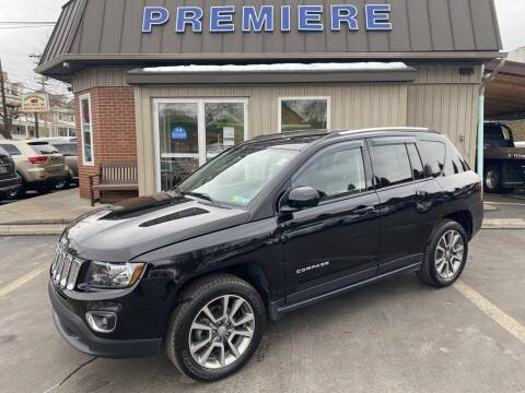 2017 Jeep Compass for sale at Premiere Auto Sales in Washington PA