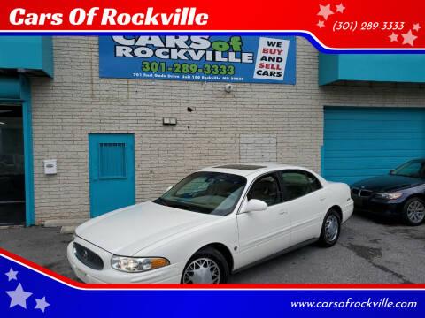 2002 Buick LeSabre for sale at Cars Of Rockville in Rockville MD