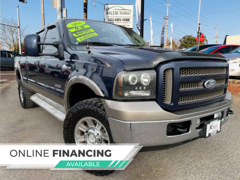 2006 Ford F-350 Super Duty for sale at Salem Auto Market in Salem OR