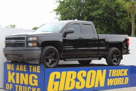 2015 Chevrolet Silverado 1500 for sale at Gibson Truck World in Sanford FL