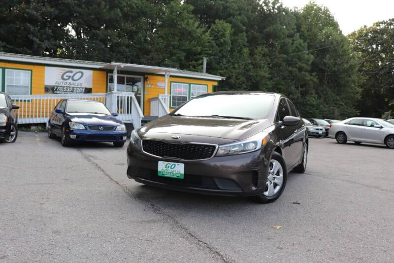 2017 Kia Forte for sale at Go Auto Sales in Gainesville GA