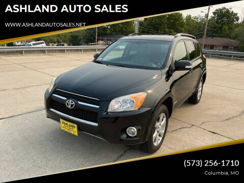 2012 Toyota RAV4 for sale at ASHLAND AUTO SALES in Columbia MO