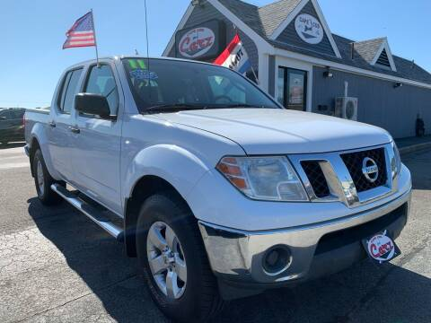 2011 Nissan Frontier for sale at Cape Cod Carz in Hyannis MA