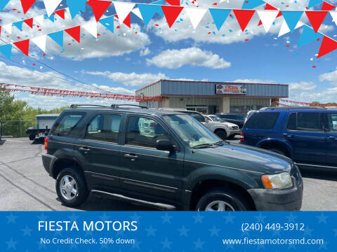 2004 Ford Escape for sale at FIESTA MOTORS in Hagerstown MD