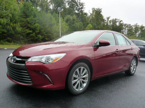 2017 Toyota Camry for sale at RUSTY WALLACE KIA OF KNOXVILLE in Knoxville TN