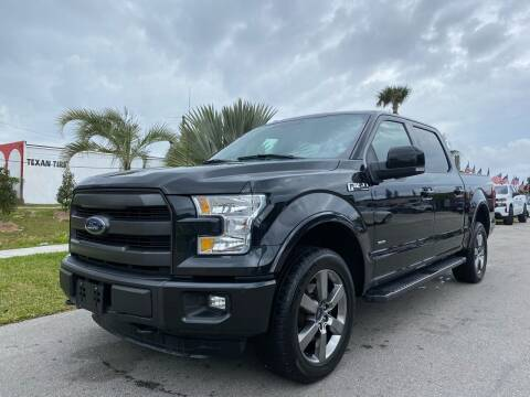 2015 Ford F-150 for sale at GCR MOTORSPORTS in Hollywood FL