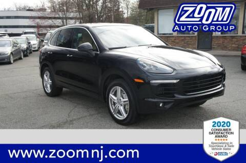 2016 Porsche Cayenne for sale at Zoom Auto Group in Parsippany NJ