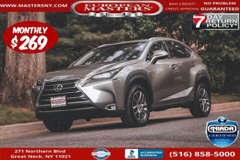 2015 Lexus NX 200t for sale at European Masters in Great Neck NY
