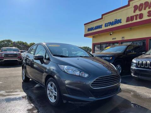 2019 Ford Fiesta for sale at Popas Auto Sales in Detroit MI