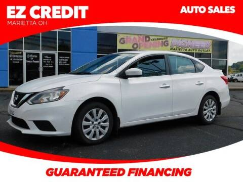2017 Nissan Sentra for sale at Pioneer Family preowned autos in Williamstown WV