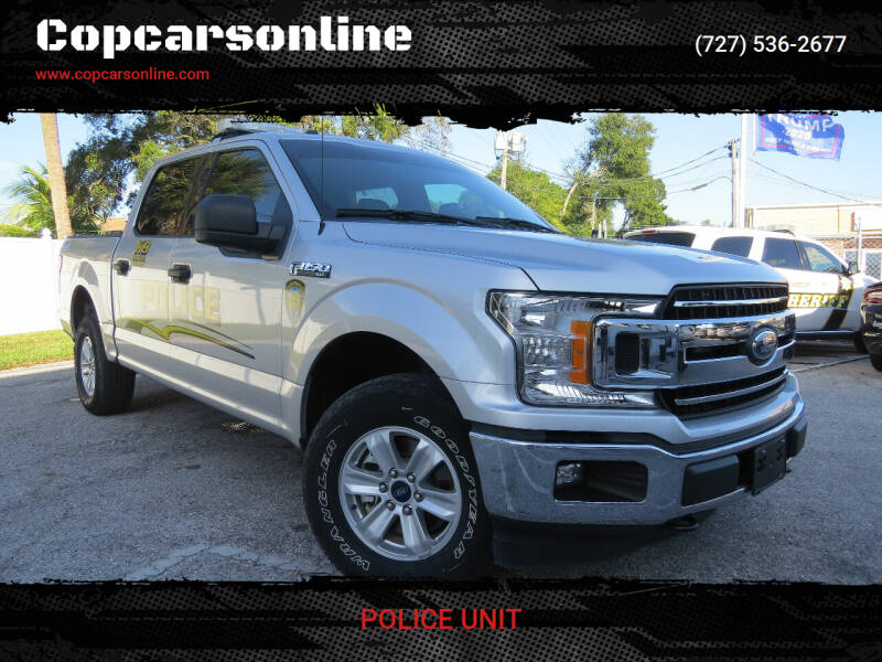 2018 Ford F-150 for sale at Copcarsonline in Largo FL