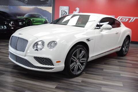 2017 Bentley Continental for sale at Icon Exotics in Houston TX