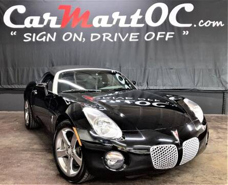 2006 Pontiac Solstice for sale at CarMart OC in Costa Mesa CA