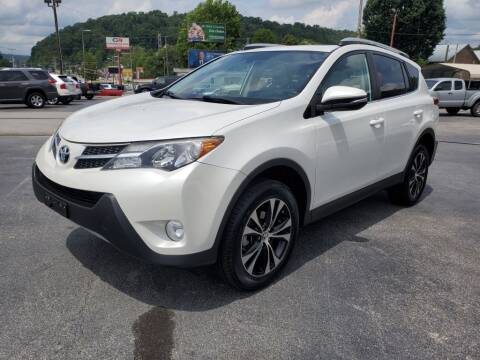 2015 Toyota RAV4 for sale at MCMANUS AUTO SALES in Knoxville TN