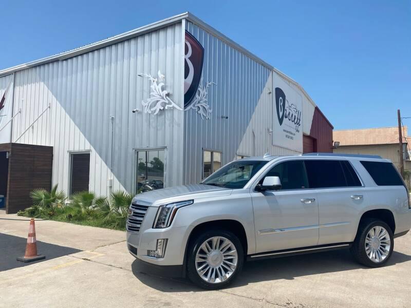 2015 Cadillac Escalade for sale at Barrett Auto Gallery in San Juan TX