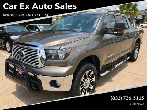 2013 Toyota Tundra for sale at Car Ex Auto Sales in Houston TX