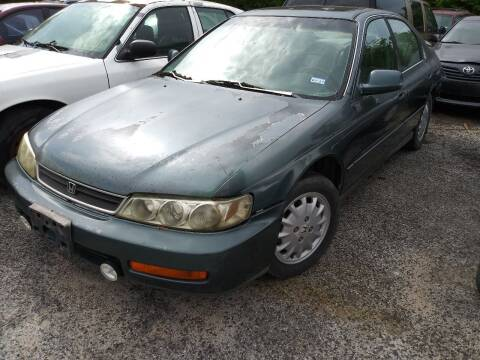 1997 Honda Accord for sale at Ody's Autos in Houston TX