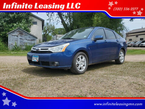 2009 Ford Focus for sale at Infinite Leasing LLC in Lastrup MN