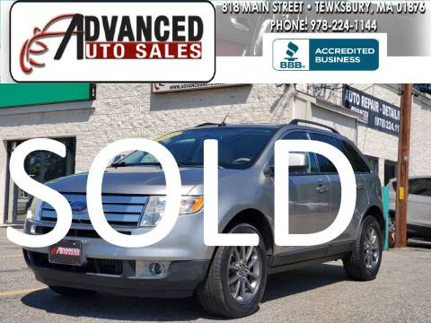 2008 Ford Edge for sale at Advanced Auto Sales in Tewksbury MA