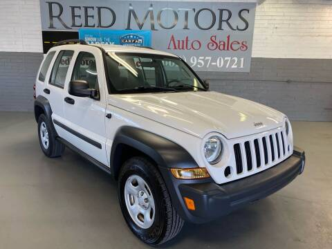 2007 Jeep Liberty for sale at REED MOTORS LLC in Phoenix AZ