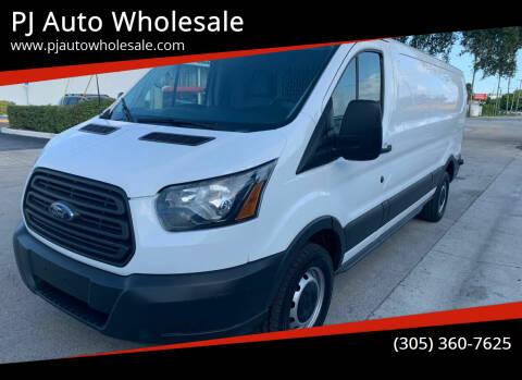 2015 Ford Transit Cargo for sale at PJ AUTO WHOLESALE in Miami FL