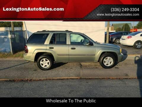 2003 Chevrolet TrailBlazer for sale at LexingtonAutoSales.com in Lexington NC